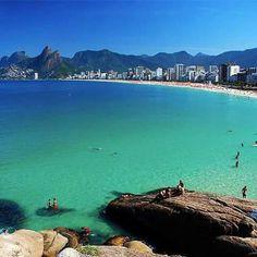 af1daf163be9 Praia do Arpoador Rio De Janeiro Cidade, Praia, Cidades Do Brasil, Viagem  Brasil