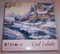 Casse-tête Puzzle Carl Valente de 750 pièces. 14.99$ Disponible en boutique ou sur notre catalogue en ligne. Livraison rapide au Québec.  Achetez-le info@laboiteasurprisesdenicolas.ca