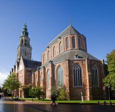 Martinikerk in #Groningen. Gebouwd rond 1200. #Church #monument