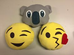 A Happy Carrot: Emoji Pillow Tutorial with FREE pattern: sewing is optional
