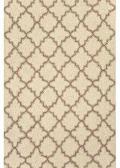 Dash and Albert Plain Tin Ivory Hooked rug