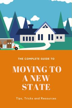 There are a lot of details to consider when moving to a new state. Don't fret! Use this guide to make sure you plan and execute your move efficiently. Moving Supplies, Packing Supplies, Small Colleges, Planning A Move, How To Plan, Reading, Reading Books