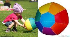 Ballon Pocketball Arc-en-ciel Wolkenstürmer