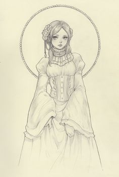 Original Pencil Drawing by JDarnell