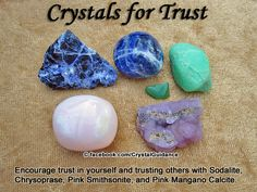 Crystal Guidance: Crystal Tips and Prescriptions - Trust