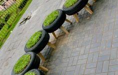 Fantastiche immagini su riciclo copertoni old tires recycle