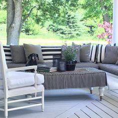 """352 Likes, 29 Comments - BannockBurn 1878... (@cynthia_weber_design) on Instagram: """"Our porch is being featured in the new issue of Style at Home... I have been sitting on this…"""""""