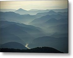 Mist Veils The Mountains Of Daisetsuzan Acrylic Print By Michael S. Yamashita