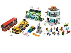Probably the coolest lego set in a long time.  This is what city is supposed to be.