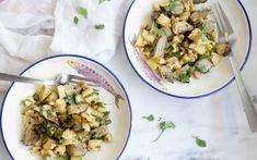 Herb Salad, Honeycrisp Apples, Grain Free, Jerusalem, Artichoke, Potato Salad, Side Dishes, Vegetarian Recipes