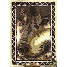 Craftways® Wolf  Latch Hook Kit