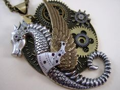 Very cool Steampunk design from DonWyn at Etsy.