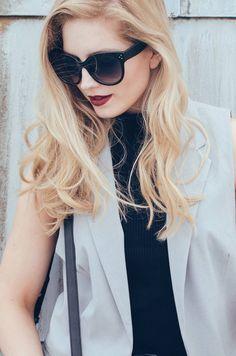 Ajda's Blog: Oversize Womens Designer Cat Eye Sunglasses 8814