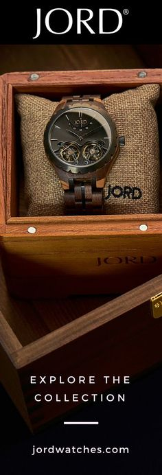 305b96b0ec0 Jord has created the only wood watch to feature elements common in luxury  brands. Automatic