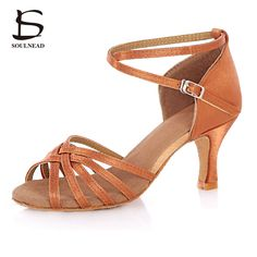 5a9706465b 2017 Adult Ladies Women New Arrivals Ballroom Latino Dancing Shoes Soft  Bottom High Heeled Professional Tango Salsa Dance Shoes