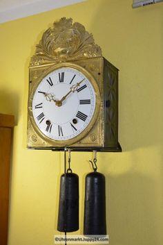 Burgunderuhr 8-Tage Werk - Mechanische - Standuhren - Tischuhren - Clock, Wall, Home Decor, Grandfather Clocks, Desk Clock, Watch, Decoration Home, Room Decor, Clocks