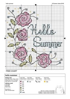 Exciting photo - head to our write-up for even more innovations! Cross Stitch Cards, Cross Stitch Borders, Cross Stitch Rose, Simple Cross Stitch, Cross Stitch Flowers, Cross Stitch Kits, Counted Cross Stitch Patterns, Cross Stitch Designs, Cross Stitching