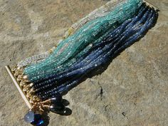 Miss the ocean? Now you can carry it with you. #CustomJewelry #HandmadeJewelry #GemstoneJewelry