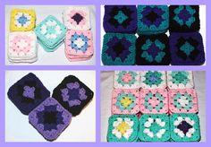 "4"" Granny Squares Sold Here   http://ebay.to/1y0nOSx   #shopping #handmade #crochet #eBay #mamabecca2011"