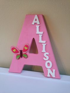 Custom Baby Girl room Decor  Allison