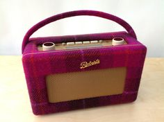 Whats not to love?....fabulous vintage style radio dressed in tweed.  Harris Tweed Roberts Revival RD60 DAB Radio by RevivedRadios, £155.00 on etsy