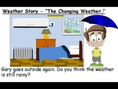 """▶ Weather Story - """"The Changing Weather"""" (ESL Grade 2 English Story) - YouTube"""