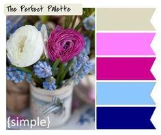 Paleta de Cores: Rosa Pink & Azul Navy   Worspite Noivas