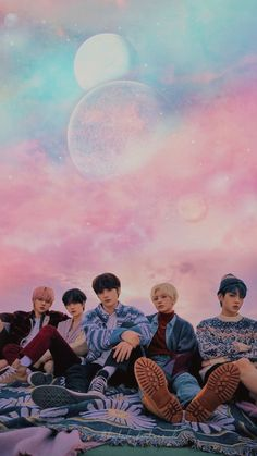 Pink Wallpaper Iphone, I Wallpaper, Kpop Backgrounds, Bts Concept Photo, Blue Hour, K Idols, Photo Cards, Cute Wallpapers, Music Artists