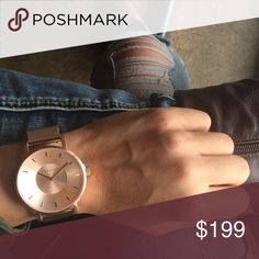Klasse 14 rose gold watch, NWOT, gorgeous! Volare Rose Gold with mesh band. 42MM Klasse 14 Accessories Watches