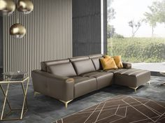 Download the catalogue and request prices of Suzette   sectional sofa By egoitaliano, sectional sofa with chaise longue