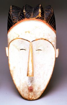 Mask for Ngil society Date: late 19th century Dimensions: 19 1/2 x 11 x 11 3/4 in. Culture/People: Fang People Acquisition Date: 1937-09-01