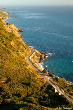 Pacific Coast Highway - drove it from San Francisco to Los Angeles - spectacular