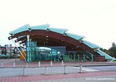 Troelstralaan station in Rotterdam, Netherlands