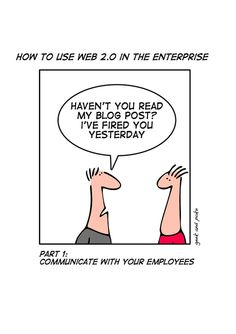 How to use Web 2.0 in the Enterprise