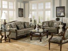 Martinsburg Meadow Sofa & Loveseat #sofa #loveseat #livingroom #rana #ranafurniture #furniture #miami