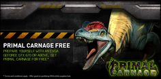 Hunt or be hunted …the EVGA exclusive Primal Carnage Bundle has just launched! Receive your FREE game code with the purchase and registration of an EVGA GeForce GTX Primal Carnage, Game Codes, Video Games, Free, Videogames, Video Game