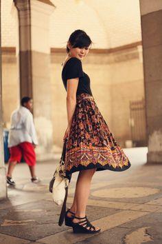 Vintage Skirt via JennifHsieh