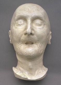 Death Mask of Turner's Death Mask (1851) Thomas Woolner
