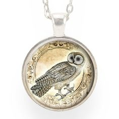 Owl Necklace – CellsDividing