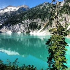 Blanca Lake, Washington. Best hike yet.