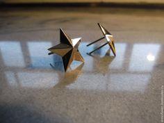 Купить золотые звезды Майорские - золотой, звезды на погоны, золото 585 пробы