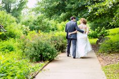 #Foreverlove is even more #beautiful when you can look back on pictures like this! A #sweet, #perfect #walkinthegarden at #chatahoocheenaturecenter for the #brideandgroom :) ::Jess + Brian's Nature Center wedding in Tennessee:: #tennesseeweddings #outdoorwedding #coupleportraits