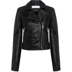 Iro.jeans - Memphis Leather Biker Jacket ($1,360) ❤ liked on Polyvore featuring outerwear, jackets, cropped moto jacket, iro jacket, leather rider jacket, motorcycle jackets and cropped biker jacket