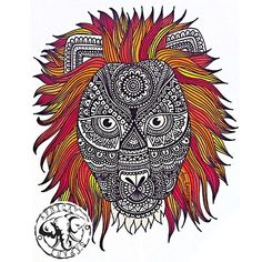 zentangle art dani hoyos - Buscar con Google Safari, Zentangle, Pattern Sketch, Yin Yang, Rooster, Sketches, Photo And Video, My Favorite Things, Drawings