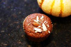 Pumpkin Spelt Muffins - blood type O friendly with soy yogurt