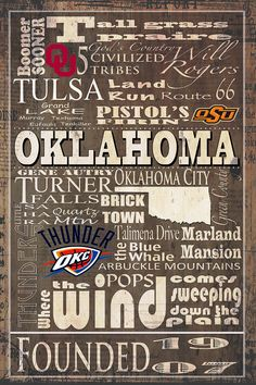 Home sweet home! I want to print this sign in hang it up in our first home! I'll always be an Oklahoma girl!