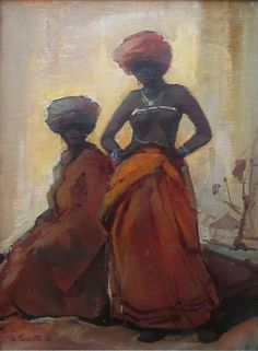 Turbans, Orange, Artist, Painting, Turban, Artists, Painting Art, Paintings, Painted Canvas