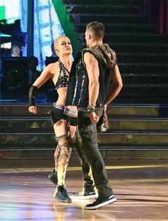 James and Peta, dancing with the stars