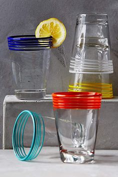 Chroma Dipped Glass - anthropologie.eu