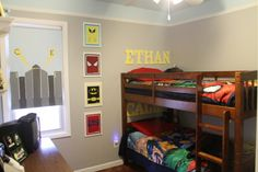 super hero room ideas | Superhero Boys Room - Boys' Room Designs - Decorating Ideas - HGTV ...